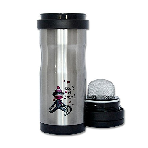 Thermos Tea Tumbler Bottle Sock It To Cancer Pink Ribbon