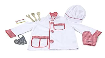 (金盒)Melissa & Doug Chef Role Play Costume 小厨师服饰$14.99,