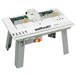 Wolfcraft 6113404 router table tools home for Table wolfcraft