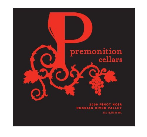 2009 Premonition Cellars Pinot Noir Russian River Valley 750 Ml
