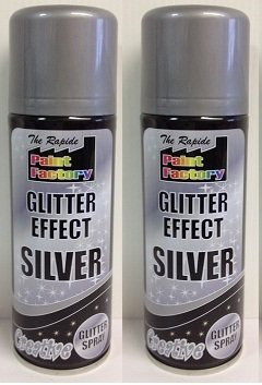 suas-international-2-x-200-ml-the-rapide-paint-factory-glitter-effect-silver-creative-glitter-spray