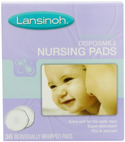 Check Out This Lansinoh Ultra Soft Disposable Nursing Pads, 36 Count