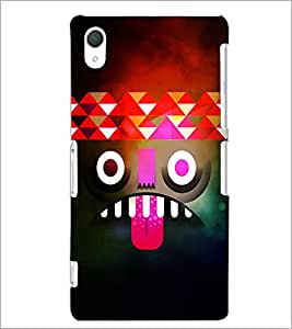 PrintDhaba Cartoon D-4389 Back Case Cover for SONY XPERIA Z2 (Multi-Coloured)