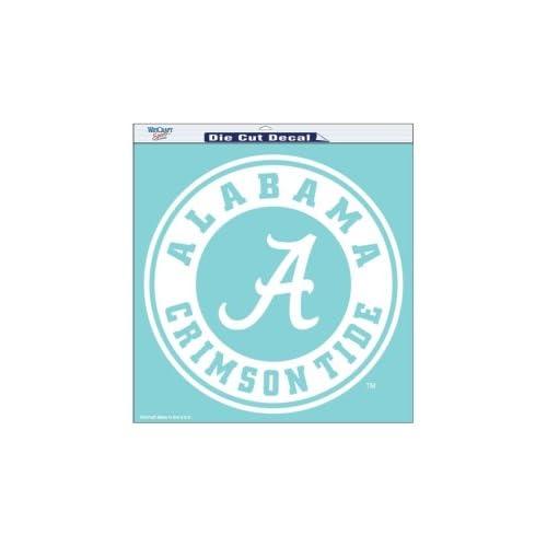 Alabama Crimson Tide Die Cut Decal   18in x18in  Sports