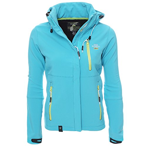 94B5 Geographical Norway Tehouda Damen Softshell Jacke Outdoor