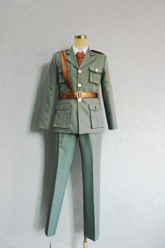 Cosplay Costume X-Small Size Axis Powers Estonia 'Smilitary Uniform Japanese