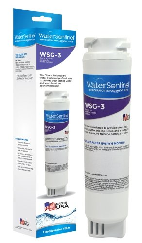 WaterSentinel WSG-3 Refrigerator Replacement Filter: Fits GE MSWF Filters