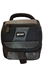Panasonic Lumix DMC-FZ70 Digital Camera Case Camcorder and Digital Camera Case - Carry Handle & Adjustable Shoulder Strap - Black / Grey - Replacement by Synergy