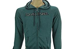 Dakine Men\'s Stitch Rail Zip Hoodie, Antlantic Deep, L