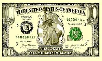 Million Dollars Flag