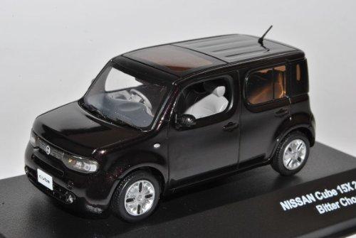 Nissan Cube 15x Braun Ab 2008 Z12 1/43 J-Collection Modell Auto