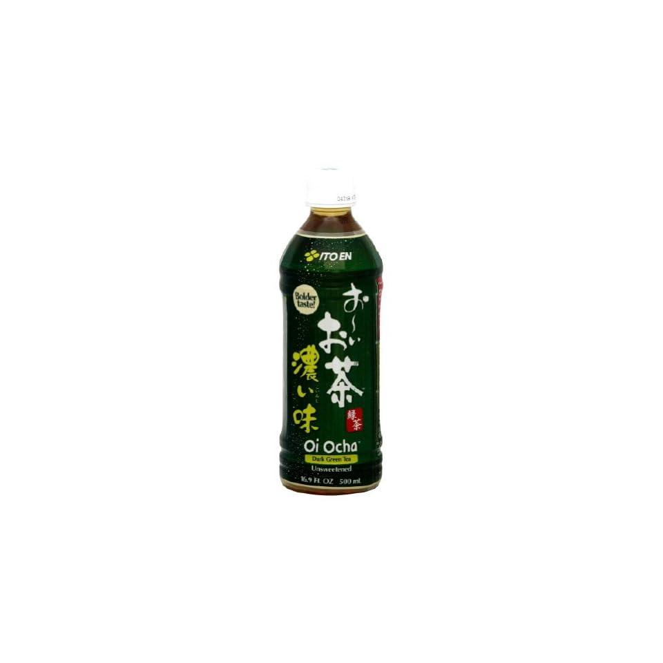 Ito En Oi Ocha Dark Japanese Green Tea, 16.9 Ounce Bottles (Pack of 12)