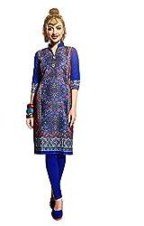 Rise N Shine Multicoloured Cotton Printed Casual Wear Kurti