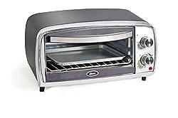 Oster TSSTTVVGS1-049 10-Litre Oven Toaster Grill (Black/Chrome)