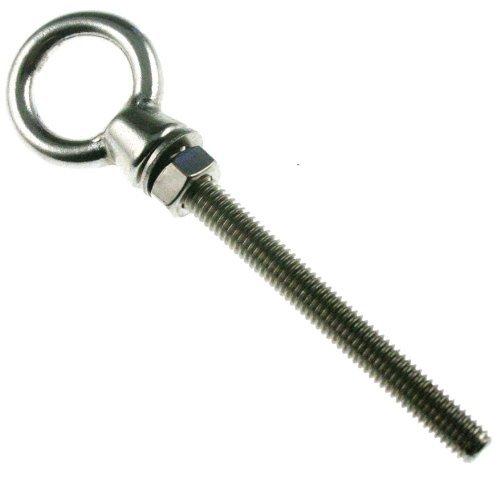 Bullone Dado anello-vite ad anello acciaio inox M10x 100mm, ARBO-INOX