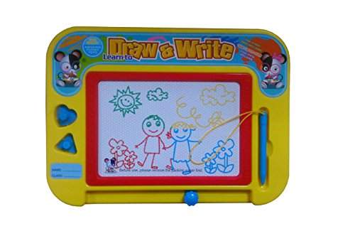WZYuan-Magical-Writing-Board-Color-Magnetic-Drawing-Baord-for-KidsToddlersBabies-Magic-Magical-Erasable-Color-Doodle-Scribble-Writing-Drawing-Draft-Sketch-Tablet-Pad