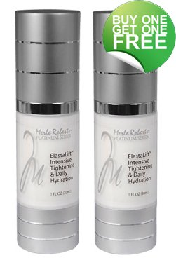 Merle Roberts Platinum Elast - Lift Intensive Tightening and Daily Hydration Reducing Wrinkles 45-56%.