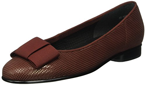 Gabor Shoes Basic, Ballerine Donna, Rosso (Wine 45), 41 EU