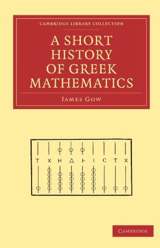 A Short History of Greek Mathematics