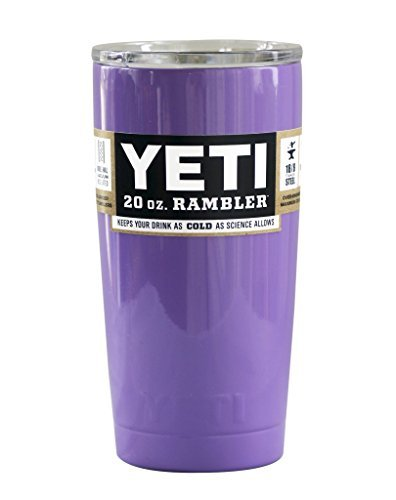 Custom Colored 20 Oz Yeti. New! Painted Rambler. Pink, White, Teal. Limited QTY ... (PURPLE LILAC LAVENDER)