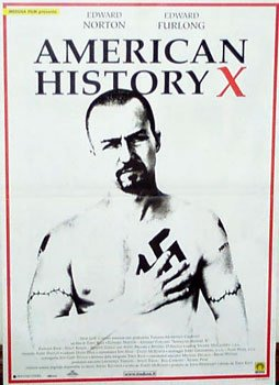HUGE LAMINATED / ENCAPSULATED American History X Red Border - Italian Film POSTER measures approximately 100 x 70cm Greatest Films Collection Directed by Tony Kaye. Starring Edward Norton Edward Furlong Beverly D'Angelo