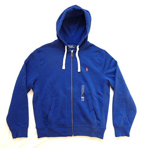 POLO RALPH LAUREN FELPA UOMO CLASSIC ATHLETIC FLEECE COLORE RUGBY ROYAL (L)