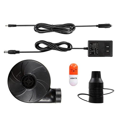 Ac Dc Portable Mini Electric Air Pump Inflator Deflate