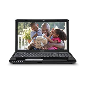 Toshiba Satellite L655-S5158 15.6-Inch Laptop (Black)