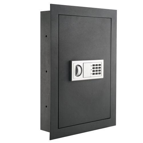 Paragon 7725 Flat Superior Electronic Hidden Wall Safe .83 CF for Jewelry or Small Handgun Security (Wall Mounted Gun Safe compare prices)