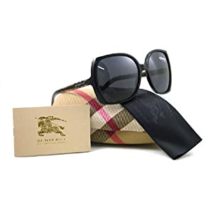 AUTHENTIC BURBERRY SUNGLASSES B BE 4067 3177/87 BLACK BE4067