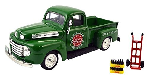 Coca-Cola Collectibles 1/43 Ford F1 pickup 1948 Green (Presto Motor compare prices)