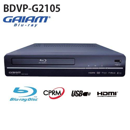 ティー・エム・ワイ GAIAM ブルーレイディスクプレーヤー BDVP-G2105