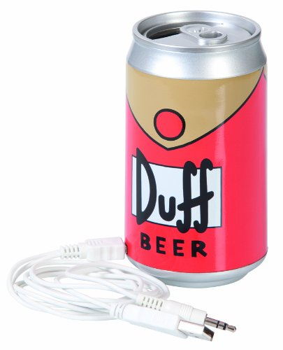 Simpsons Speaker Duff Beer United Labels