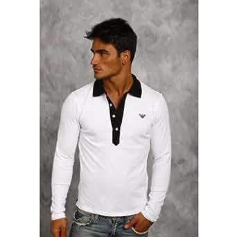 Armani Polo Homme Emporio Armani AR3762339 blanc (L)