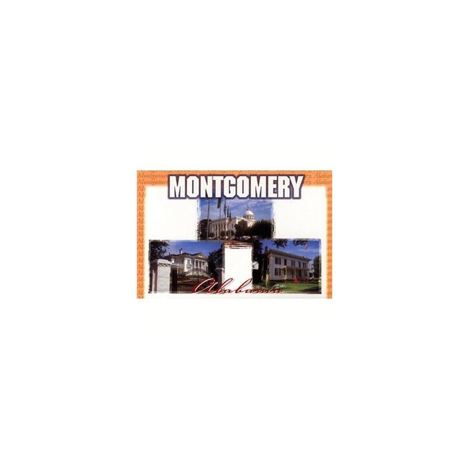 Alabama Postcard Al120 Montgomery 3 View Case Pack 750