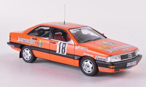 Audi-200-Quattro-No18-Jgermeister-Rally-Baden-Wrttemberg-1987-Modellauto-Fertigmodell-Neo-143