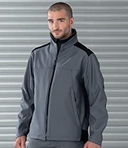 russell workwear softshell jacket convoy grey 4xl diy tools. Black Bedroom Furniture Sets. Home Design Ideas