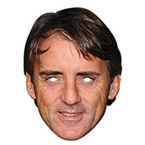 Roberto Mancini Celebrity Face Card Mask, Mask-arade, Impersonation/Fancy Dress - 1