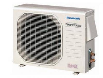 Panasonic Ac Cu-E12Nkua Ductless Air Conditioning, 11,900 Btu Ductless Mini-Split Wall-Mounted Heat Pump - Outdoor Unit