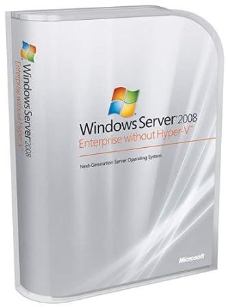 Microsoft Windows Server Enterprise 2008 w/o Hyper-V 25 Client [Old Version]