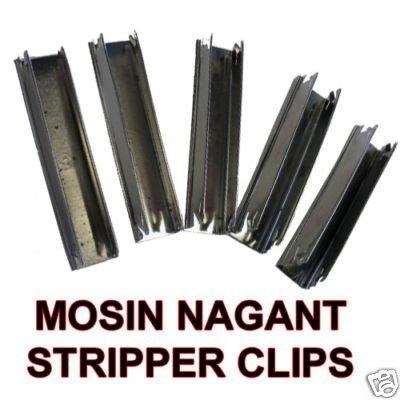 Mosin Nagant M44 M91/30 5 per pouch Stripper clip
