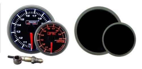 Wideband Air Fuel Ratio Gauge Premium Amber/white 52mm (2 1/16
