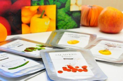 オーガニック野菜フェイスパック サラダキッス 5種類30枚