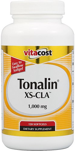 Vitacost Tonalin XS-CLA - 1000 mg - 120 gélules