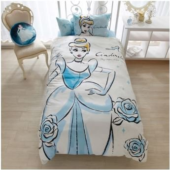 disney-cinderella-duvet-covers-sheets-pillow-case-three-piece-set-japanese-style-single