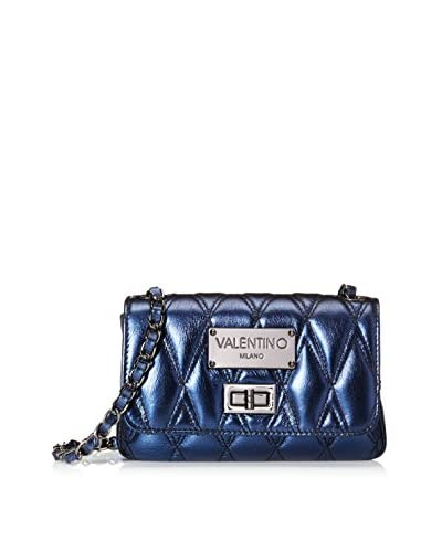 Valentino Bags by Mario Valentino Women's Noelled Crossbody, Blue, One Size
