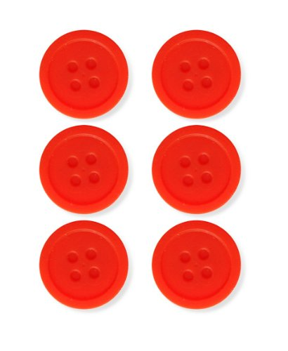 Best Price! Kikkerland Silicone Tea Buttons, Set of 6