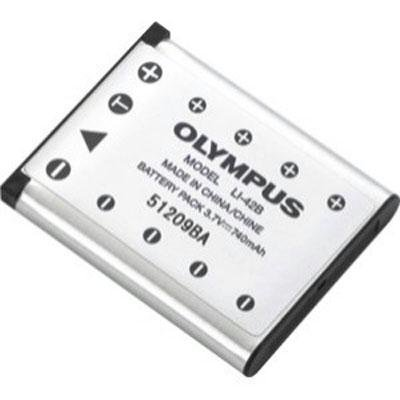 Olympus LI-42B Li-Ion Rechargeable Battery - Retail Packaging