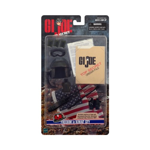 "G.I. Joe Freedom In Kuwait City Accessory Set For 12"" Figure"