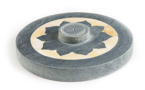 Berk ST-077 - Incensario, loto con contorno nacarado